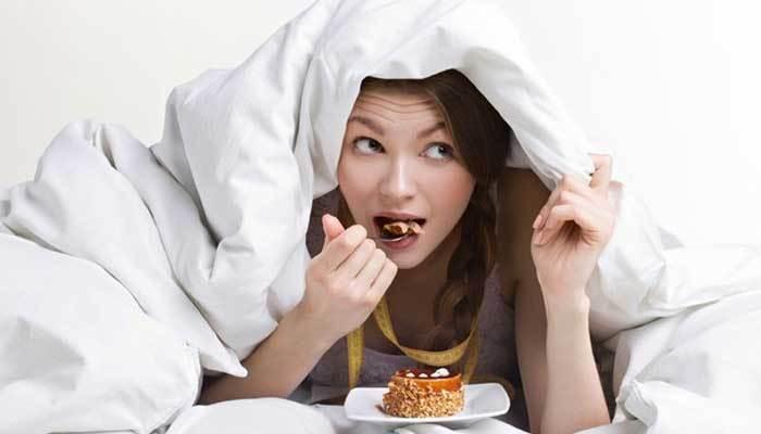 Không ăn trước khi ngủ
