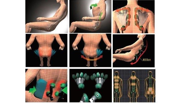 Ghế massage tác động toàn thân