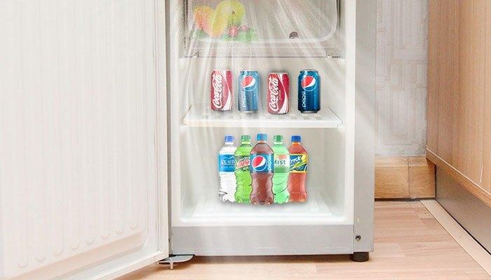 Một số máy nước nóng lạnh có tủ lạnh bên dưới