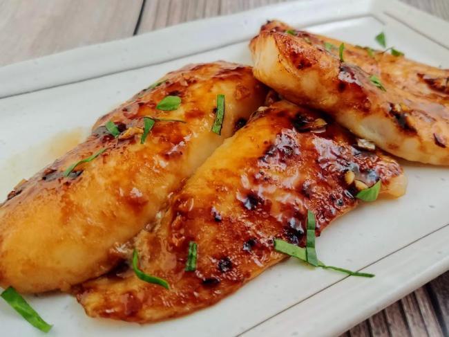Cách nướng cá kiểu Thái bằng nồi chiên không dầu