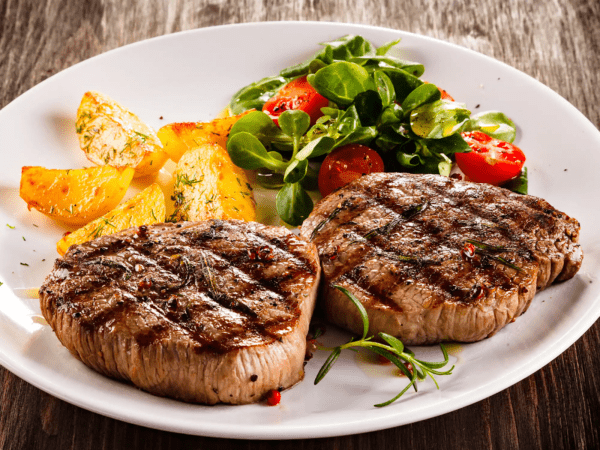 Nướng thịt bò bít tết bằng nồi chiên không dầu