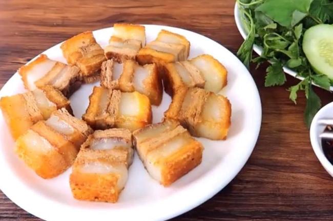 Chiên thịt heo quay chay để được món ăn chay siêu ngon cho cả nhà