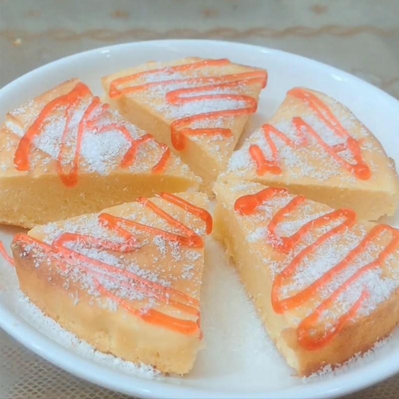 Bánh bông lan sữa chua nướng bằng nồi chiên không dầu
