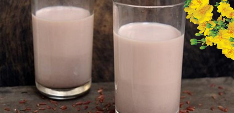 Cách nấu sữa hạt đậu cúc