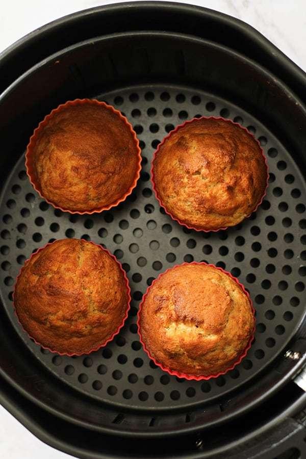 Cách nướng bánh cup cake bằng nồi chiên không dầu