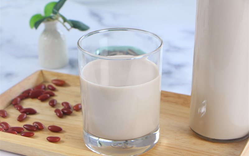 Cách làm sữa hạt hướng dương và đậu đỏ
