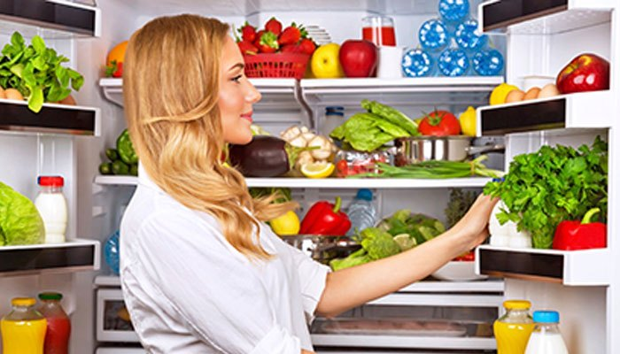 Hãy để rau củ khô ráo khi bỏ vào tủ lạnh