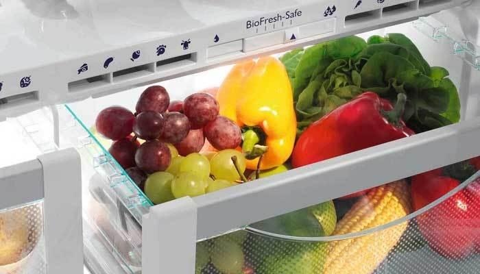 Nhiệt độ lý tưởng cho ngăn rau củ tủ lạnh từ 0 - 4 độ C