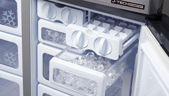 Tắt chế độ làm đá của tủ lạnh nếu không sử dụng