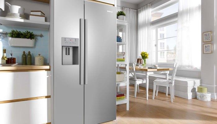 Đặt tủ lạnh xa ánh nắng mặt trời và nguồn phát nhiệt