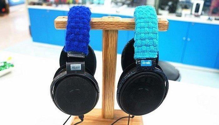 Bạn có thể bọc mút phần quai đeo của tai nghe tại nhà