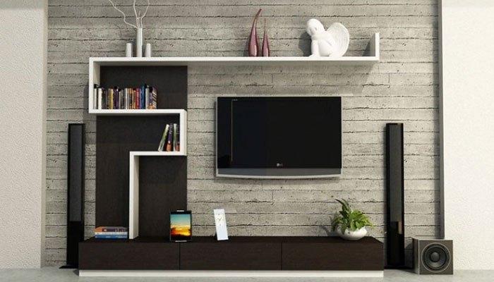 Lắp tivi treo tường để tiết kiệm diện tích