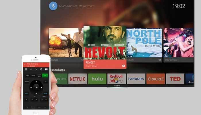 Dùng ứng dụng SideView để kết nối điện thoại với tivi Sony