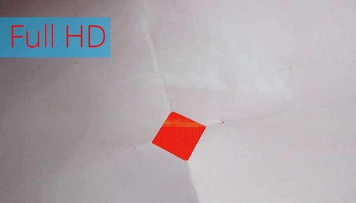 Độ phân giải Full HD trên tivi có điểm ảnh mịn hơn HD