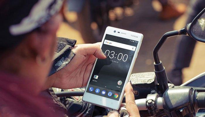 Điện thoại Nokia 3 mang dung lượng pin ổn định