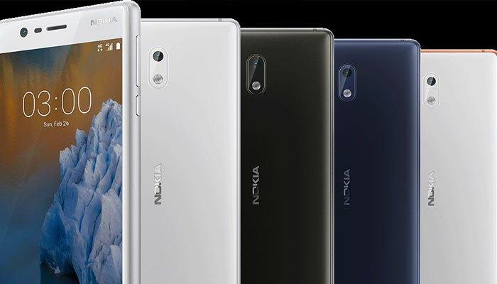 Điện thoại Nokia 3 đẹp và cầm chắc tay