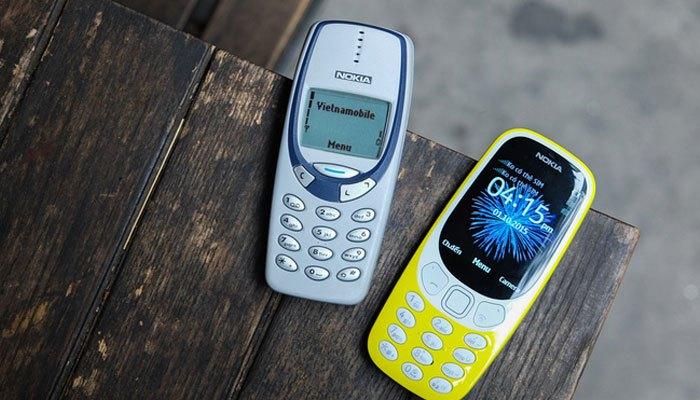 So sánh điện thoại Nokia 3310 cũ và mới