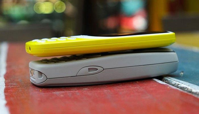 Thiết kế điện thoại Nokia 3310 mới trông mỏng hơn