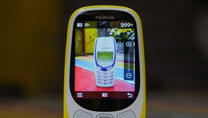 Điện thoại Nokia 3310 2017 đã có camera