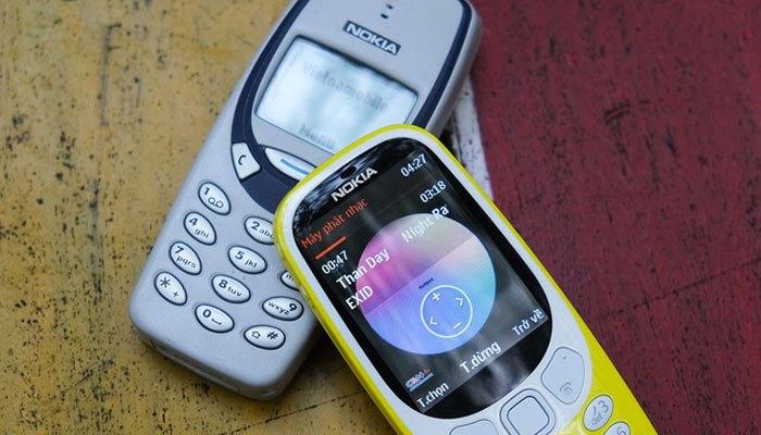 Điện thoại Nokia 3310 icon thay đổi một chút
