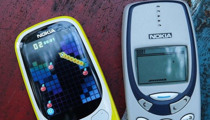 Điện thoại Nokia 3310 có game rắn ăn mồi được thay đổi