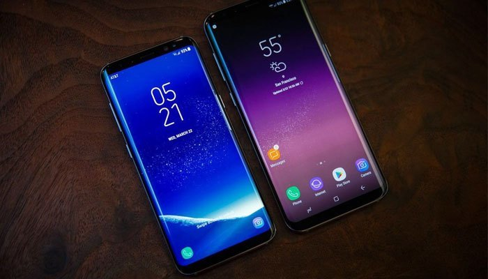 So sánh kích thước Galaxy S8 và S8 Plus