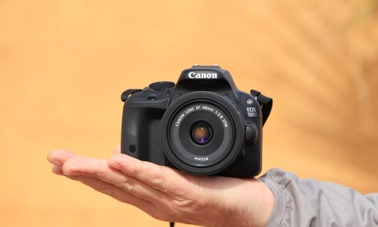 Máy ảnh Canon EOS 100D giá tốt, chính hãng tại Nguyễn Kim