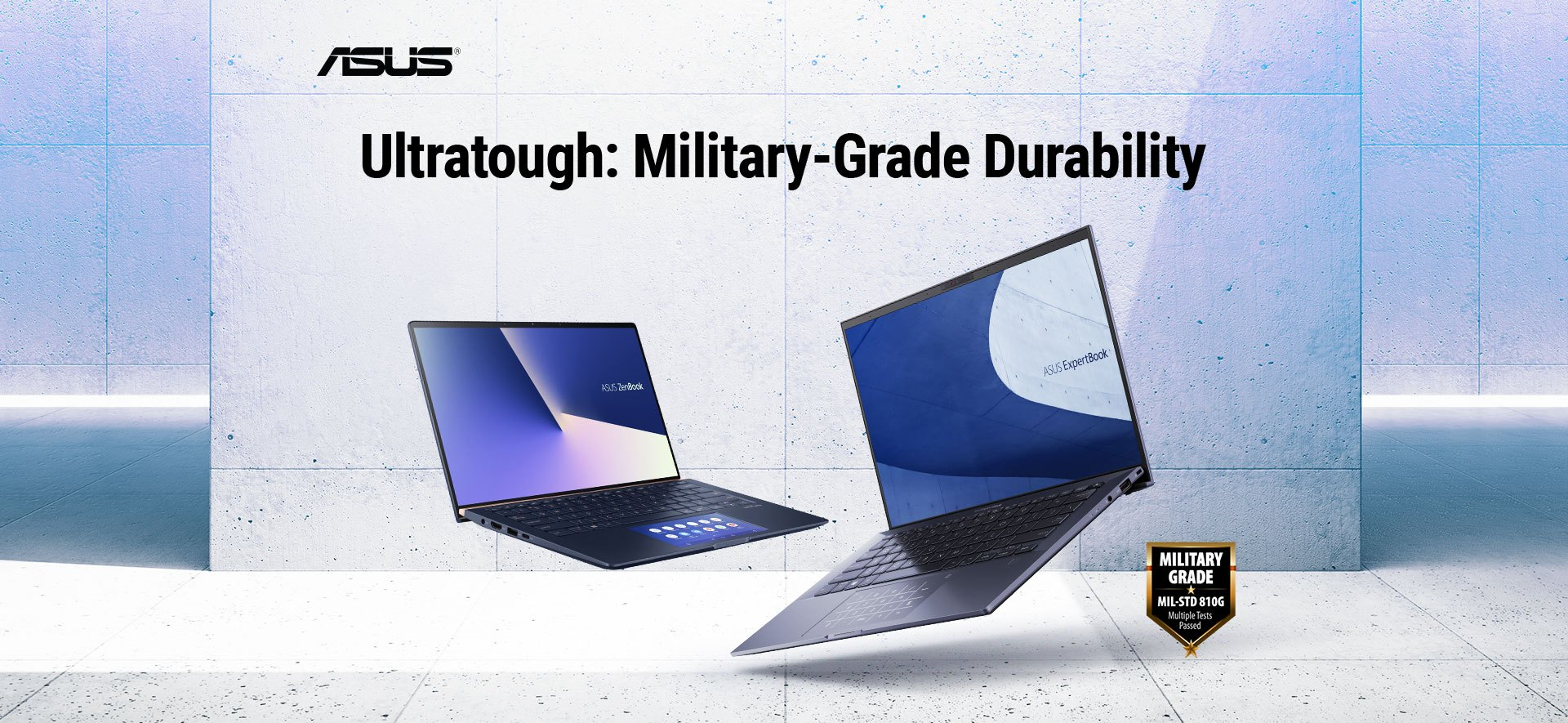 Laptop Asus Zenbook được sản xuất theo tiêu chuẩn quân đội