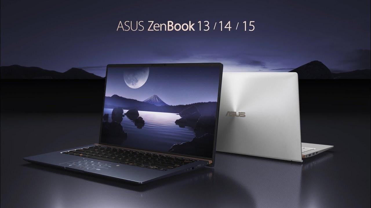 Màn hình NanoEdge trên Asus Zenbook 14 có chất lượng hiển thị ấn tượng