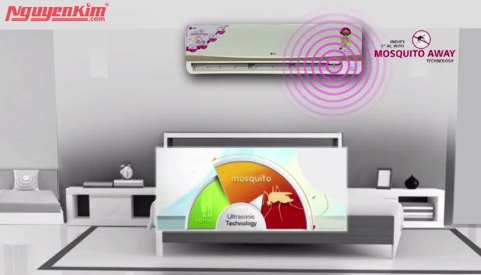 Công nghệ đuổi muỗi trên máy lạnh LG