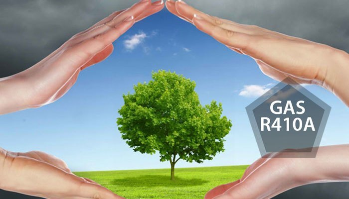 Máy lạnh LG sử dụng loại gas R410A vô cùng an toàn cho bản thân bạn và môi trường