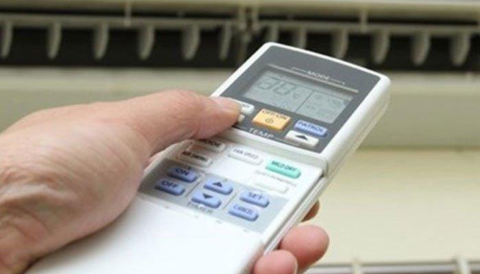 Thay đổi nhiệt độ máy lạnh liên tục khiến tiền điện tăng