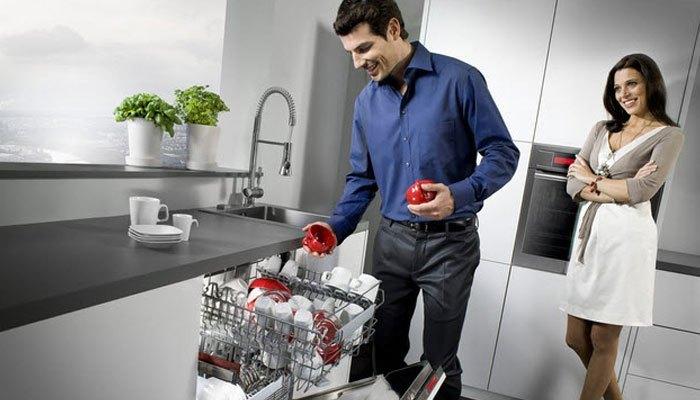 Nhiều máy rửa chén còn tích hợp cả chức năng sấy tự động