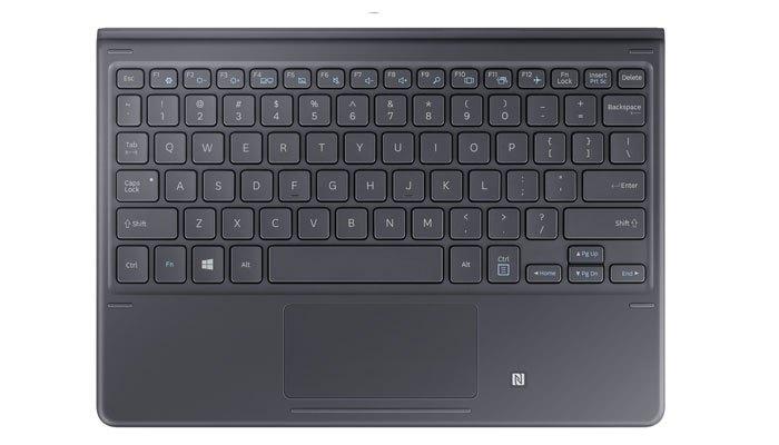 Máy tính bảng Galaxy Book có bàn phím nam châm