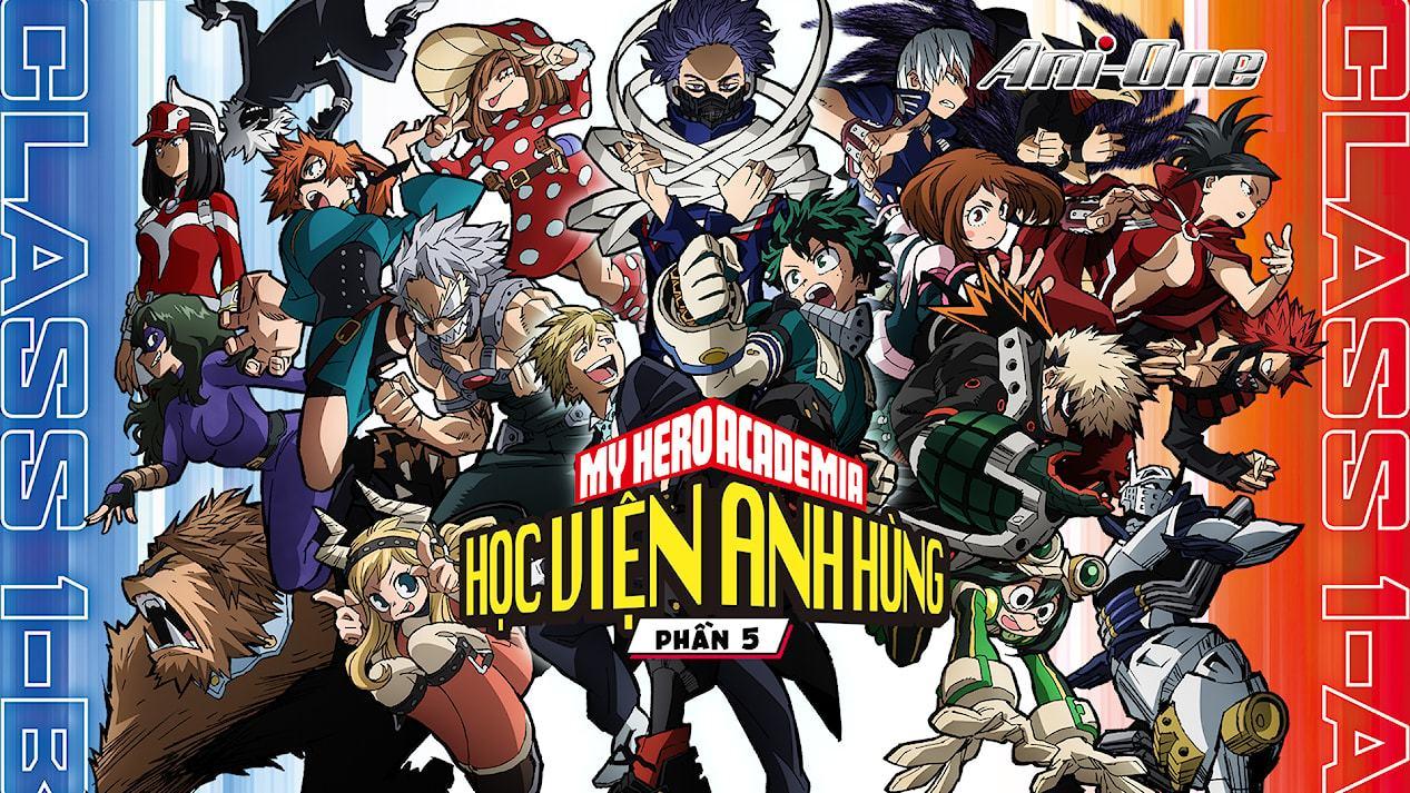 Học viện anh hùng (Phần 5) (2021) phim anime mới