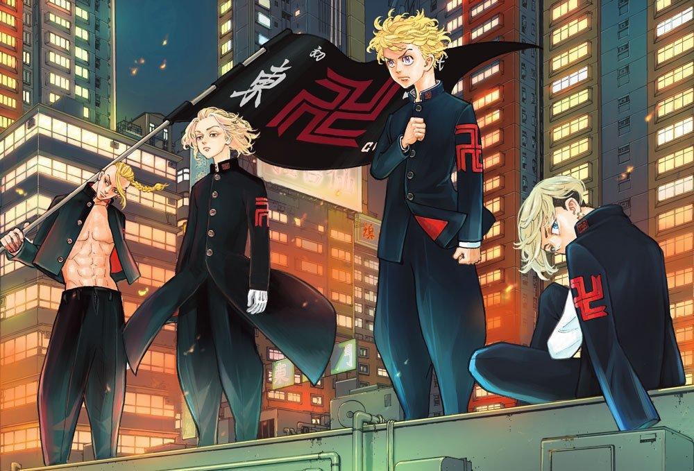 Tokyo Revengers (2021) phim anime hành động mới