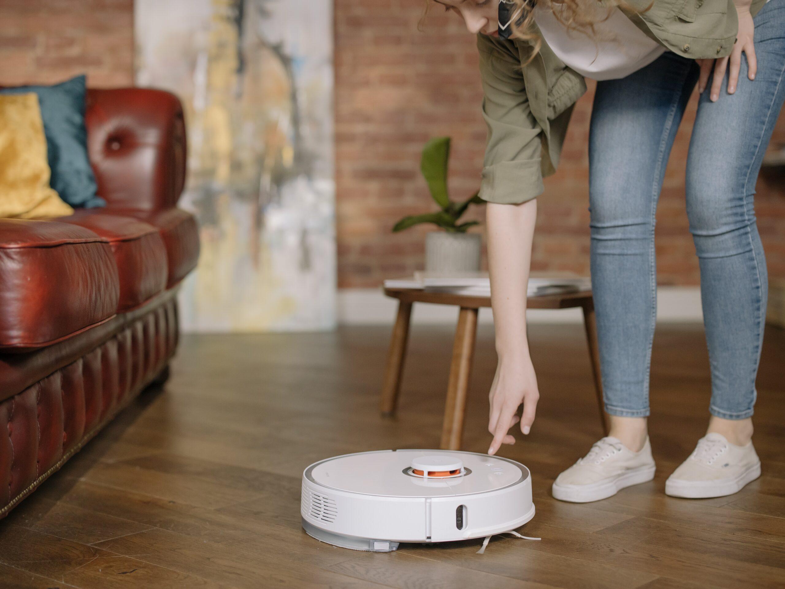 Robot hút bụi không phù hợp với nhà nhiều tầng