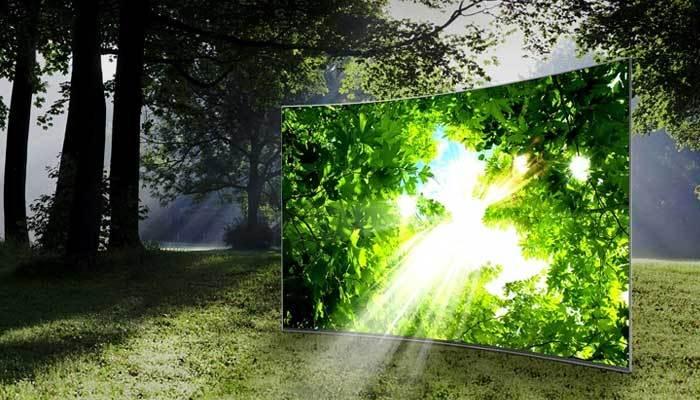 Tivi Samsung ngoại hình siêu mỏng