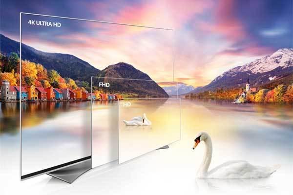 """Tivi 4K hiển thị hình ảnh nét vượt trội, """"chấp hết"""" kích cỡ màn hình lớn"""