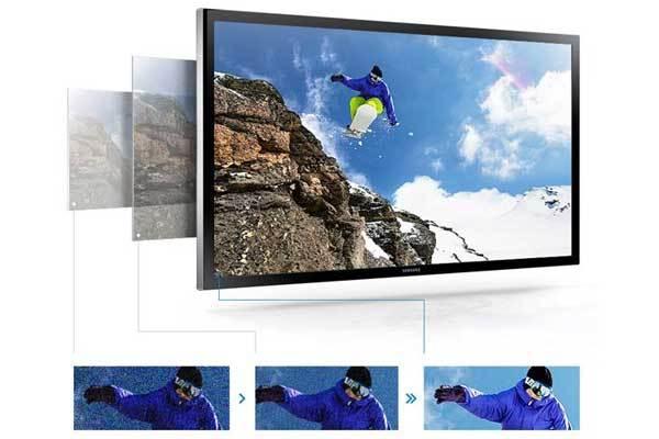 Nâng cấp hình ảnh lên tivi 4K bằng công nghệ các nhà sản xuất tích hợp trong sản phẩm
