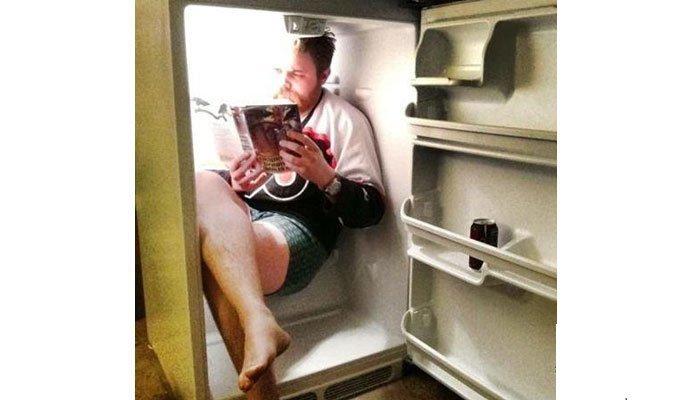 Tủ lạnh là thiên đường trong những ngày nóng