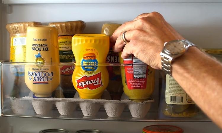 Khay đựng trứng có thể giúp tủ lạnh của bạn gọn gàng hơn