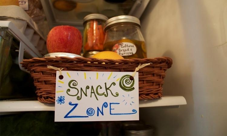 """Khu ăn nhẹ sẽ là là thiên đường khi bạn """"xà"""" vào tủ lạnh"""