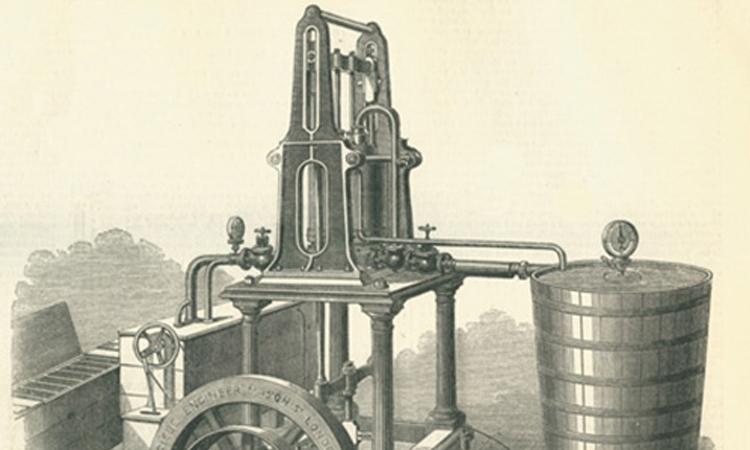 Cỗ máy làm nước đá đầu tiên là mô hình khởi đầu cho máy lạnh