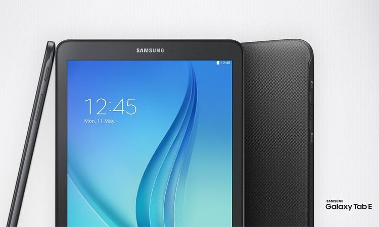 Máy tính bảng Samsung Galaxy Tab E thiết kế thời trang