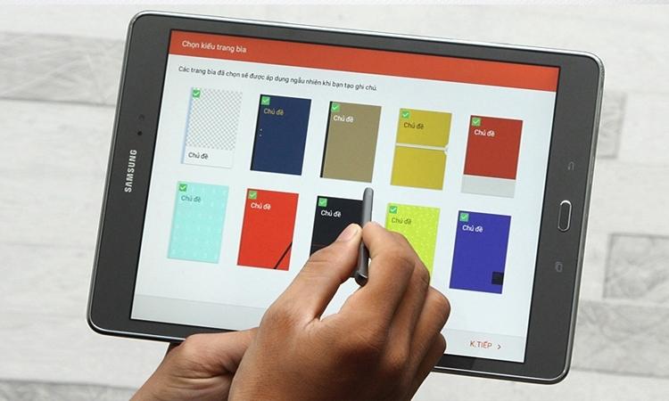 """Máy tính bảng Samsung Galaxy Tab A Plus 9.7"""" (SM-P555) thích hợp cho công việc và giải trí"""