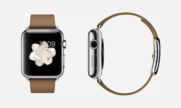 """Bông hoa nở rộ trên màn hình đồng hồ thật đẹp đúng không nào? Hình ảnh nhìn đơn giản nhưng nó """"ngốn"""" của Apple đến hàng trăm giờ đấy"""