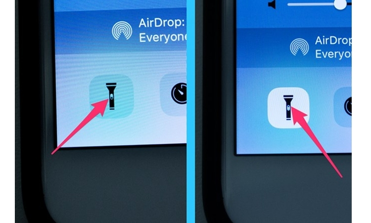Tin được không, Apple tỉ mì đến chi tiết nút bật tắt đèn pin trên điện thoại luôn đấy!