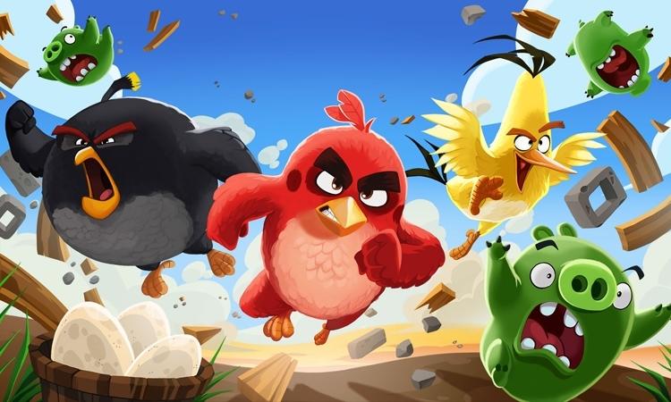 Trò chơi Angry Birds được chuyển thể thành phim nổi tiếng trên tivi