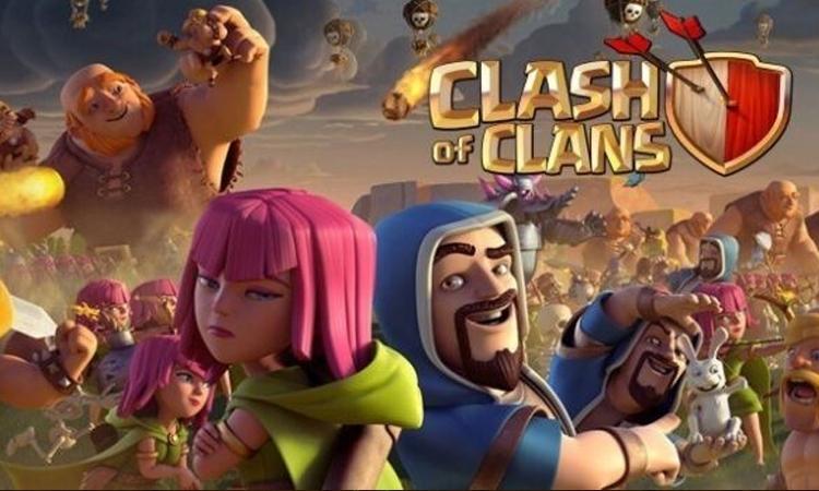 Clash of Clans trở thành chiến lược trực tuyến di động hiệu quả
